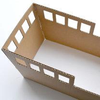 statek z pudełka - krok 3