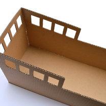 statek z pudełka - krok 4