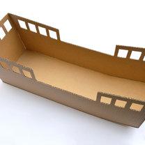 statek z pudełka - krok 5