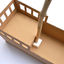 statek z pudełka - krok 7