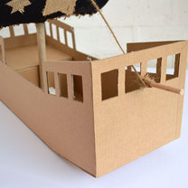 statek z pudełka - krok 8