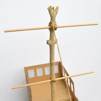 statek z pudełka - krok 9