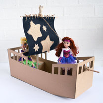 statek z pudełka - krok 13