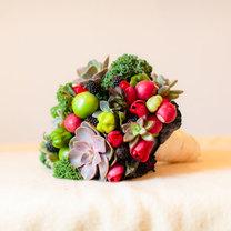 bukiet z owoców i warzyw