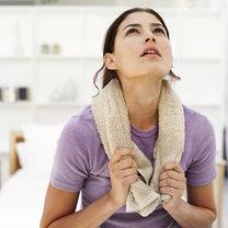 ćwiczenia z ręcznikiem