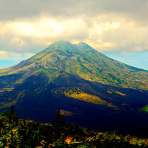 Wylkan na Bali