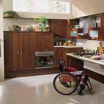 mieszkanie dla osoby niepełnosprawnej - kuchnia