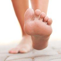 stopy bez odcisków
