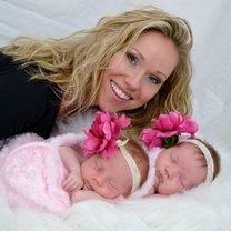 mama z bliźniętami