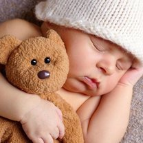 śpiące dziecko