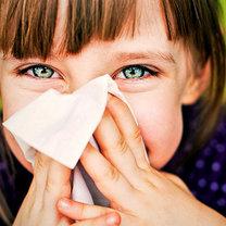 Przeziębiony przedszkolak