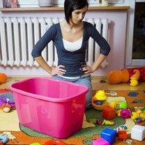 mycie plastikowych zabawek