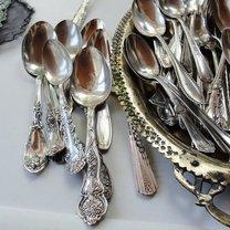 srebrne łyżeczki