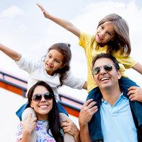 rodzina w podróży