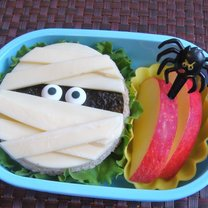 kanapka na Halloween