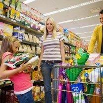 zakupy w hipermarkecie