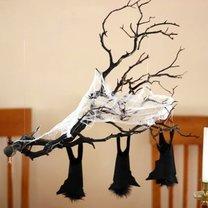 zwisające nietoperze - Halloween