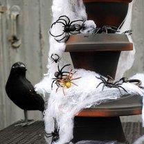 fontanna na Halloween