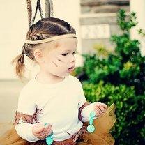 Halloween Indianka