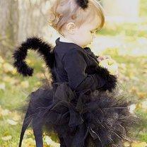 Halloween kotek kostium