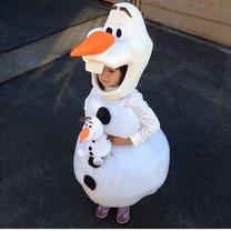 Olaf kostium na Halloween