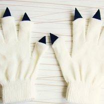 rękawiczki - szpony na Halloween
