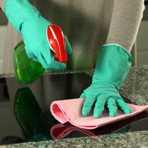 czyszczenie płyty kuchennej