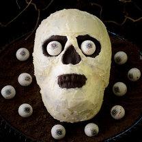 czaszka z ciasta
