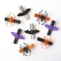 halloweenowe spinki do włosów