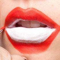 szybki i prosty makijaż na Halloween - krok 2