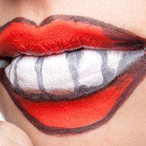 szybki i prosty makijaż na Halloween - krok 4
