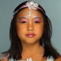 makijaż wróżki dla dziecka
