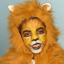 makijaż lew