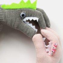 pacynki z rękawiczek