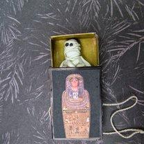 mumia w sarkofagu