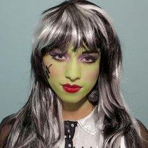 makijaż córka Frankensteina
