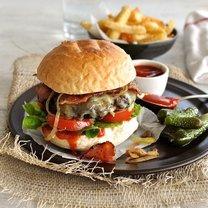 zdrowy hamburger