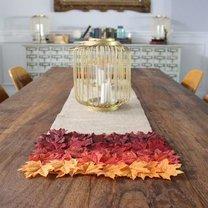 jesienna dekoracja stołu
