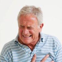 ucisk w klatce piersiowej