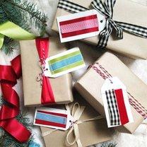 bileciki do prezentów bożonarodzeniowych