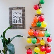 kalendarz adwentowy z balonów