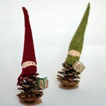 elfy na choinkę