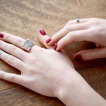 pierścionek diy