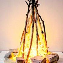 sztuczne ognisko