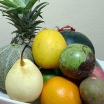 okrągłe owoce