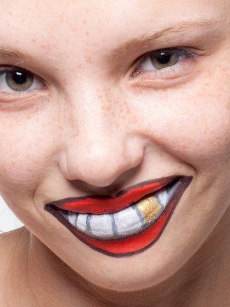 szybki i prosty makijaż na Halloween