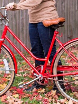 odmalowany rower