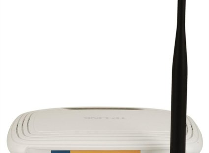 router TP-LINK - widok z tyłu