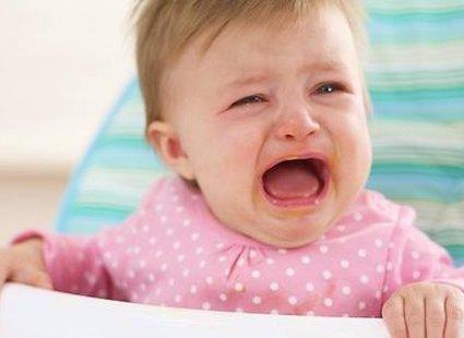 niemowlę płacze