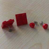 kolczyki z lego